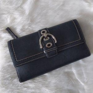 Coach Soho Checkbook size wallet